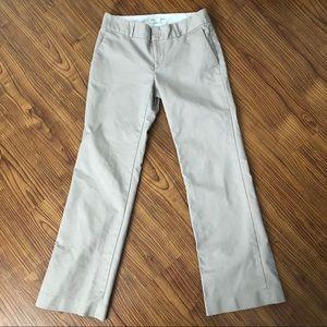 Banana Republic Bootcut Khaki Pants